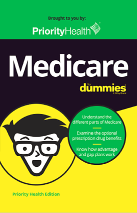 Medicare for Dummies ebook cover