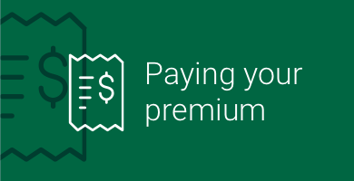 Paying your premium