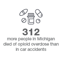 pills gray 312 more people died of overdose than car accidents statistic