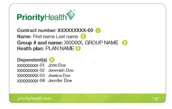 cigna member id card front