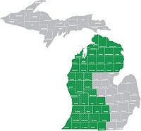 Small group west/north Michigan region