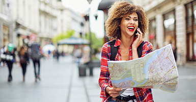 woman-on-phone-with-map